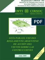 Cirsoc 102-05 - Acción del Viento Sobre las Construcciones - Guía y Ejemplos