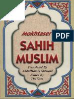 Mokhtaser Sahih Muslim Volume (4)