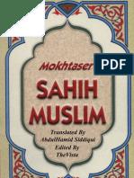 Mokhtaser Sahih Muslim Volume (5)