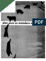 Plan Para Matadero Municipal