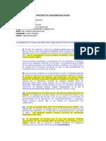Manifiesto Proyectos Socioeducativos