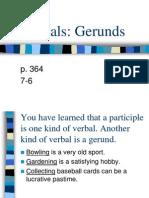 Verbals Gerunds 7-6