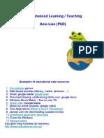 Web Enhanced Teaching
