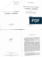 Ayyadgar i Jamaspig / Ayatkar i Zamaspik Giuseppe Messina