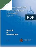 Resoluciones de 1 de Marzo de 2010 a 31 de Marzo de 2010