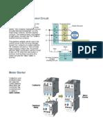 Motor Starter in Control Circuit