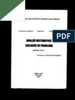 Baz Iftimie Manu Raischi Analiza Matematica Culegere Anul I 2000