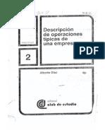 Operaciones Tipicas de La Empresa
