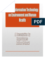 roleofinformationtechnologyonenvironmentandhumanhealth-130816041243-phpapp01