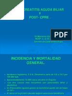 1 Pancreatitis Aguda Biliar y Post-cpre