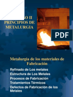 Capitulo II - Principios de Metalurgia