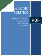 Apuntes de Clases Derecho Politico 2013