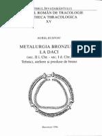 A Rustoiu Metalurgia Bronzului La Daci La Metallurgie Du Bronze Chez Les Daces 1996