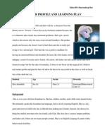 learner profile and plan- elsa arendelle