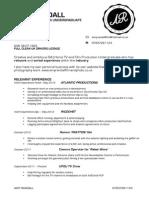 AMY RANDALL LATEST CV
