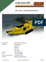 Cono Triturador Manual de Servicio ES X44