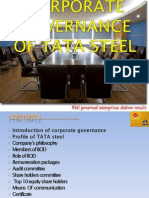 SHreYaS Corporate Governance of Tata Steel