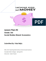 Lesson Plan- Economics