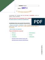 Invertebrates Unit 4 Traduccion