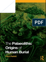 Paul Pettitt The Paleolithic Origins of Human Burial