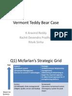 Vermont Teddy Bear Case ppt