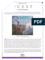 Quest by Aaron Becker Press Release