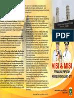 Leaflet Visi Misi Pemerintah Provinsi Banten 2012 2017