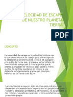 VELOCIDAD DE ESCAPE.pptx