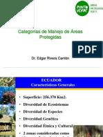 CATEGORÍAS DE MANEJO APS