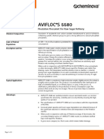 Avifloc s5580 Tds