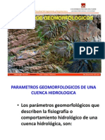 4. PARAMETROS GEOMORFOLOGICOS (1)