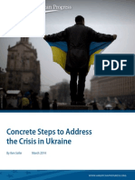 Concrete Steps to Address the Crisis in Ukraine