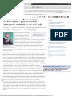 Nel Pd Scoppia La Grana Gheddafi Democratici Orientati a Disertare l'Aula -