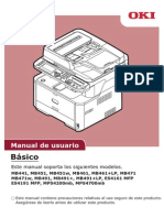 Manual Okidata Mb461