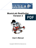 Real Guitar 3 Manual