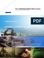 Handout Magnetic Particle Test Level II - Agustus 2009