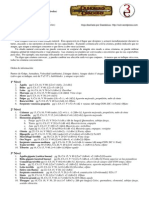 D&D 3.5 Lista Convocar Aliado Natural (No Manual)
