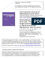 International Journal of Adolescence and Youth