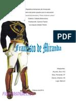 Francisco de Miranda Catedra Bolivariana
