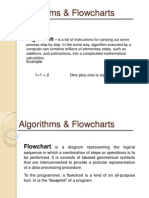 final topic (Algorithms & Flowcharts)
