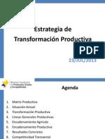 Cambio Matriz Productiva Diego Borja