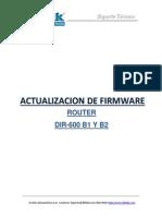 Guia de Actualizacion de Firmware Router DIR-600 B1 Y B2