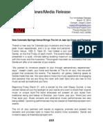 TAOJ Press Release 3-13-14