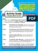 CMH Events Tue 3.18.14