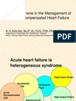 Role of Milrinone in Management Acute Decompensated Heart Failure