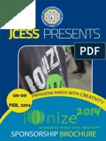Ionize 2k14 Sponsorship Brochure
