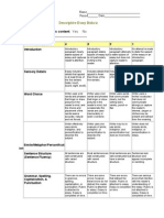 descriptive-essay-rubric