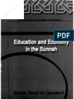 education and economy in the sunnah
