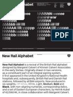 New Rail Alphabet-Specimen