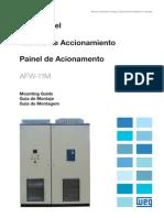 WEG Afw 11m Guia de Montagem Para Painel de Acionamentos 10000074801 Guia de Instalacao Portugues Br